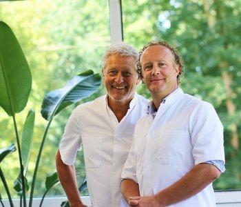 Tandartsen Drs. Mike Kesseler en Drs. Dideric Lock